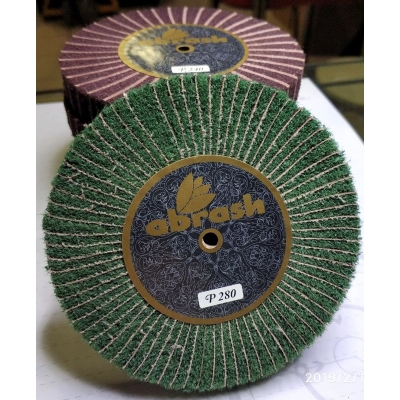 Abrash Abrasive Wheel with Green Scotch Brite
