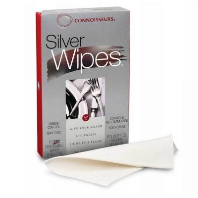 Connoisseurs Gümüş-Metal Silme ve Temizleme Mendilleri