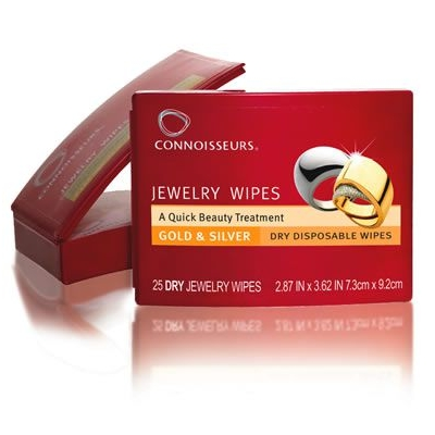 Connoisseurs Jewelry Dry Disposable Wipes