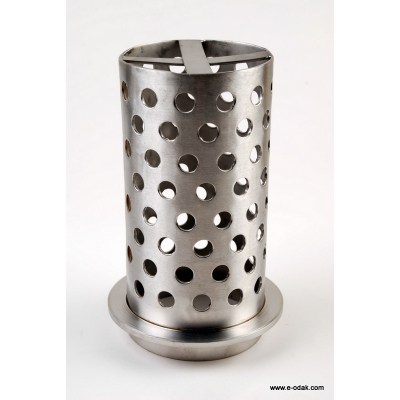 Perforated Flask With Flange