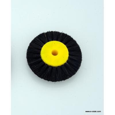 Yellow Thin Bristle Brush