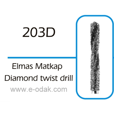 Diamond Twist Drill