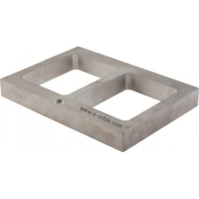 Aluminum Mold Frames Double Cavity