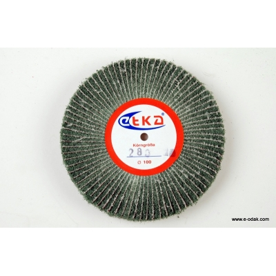Abrasive Wheel With Green Scotch Brite