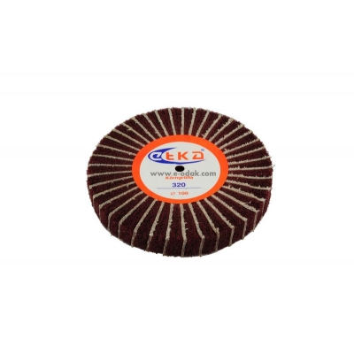 Abrasive Wheel With Brown Scotch Brite